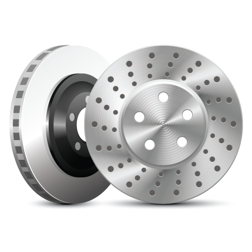 Brake discs and drums